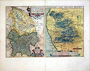 Braunsvicensis, Et Luneburgensis Ducatuum Vera Delineat/Norimberg. Agri, Fidissima Descrip (...