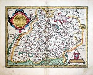 Moraviae, Quae Olim Marcomannorum Sedes, Corographia, A D. Pavlo Fabritio Medico Et Mathematico ...