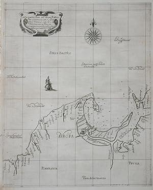 Carta particolare del mare Baltico che comincia con Colbergen e Finisce con il C: di Westuesen in ...