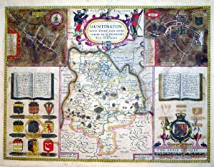 Huntington Both Shire and Shire Towne With the Ancient Citie Ely Described/Huntington(inset)&#...
