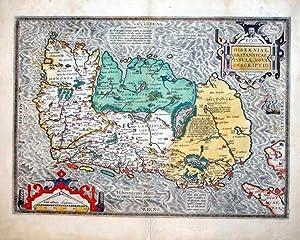 Hiberniae, Britannicae, Insulae, Nova Descriptio.: John Speed