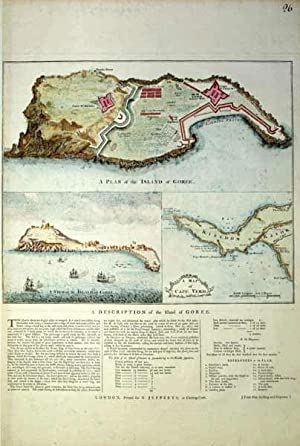 A Plan of the Island of Goree: T. Jeffreys
