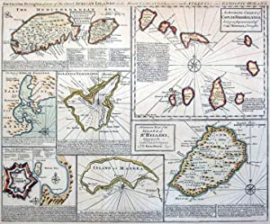 Particular draughts of some of the Chief African Islands in the Mediterranean, as also in the ...