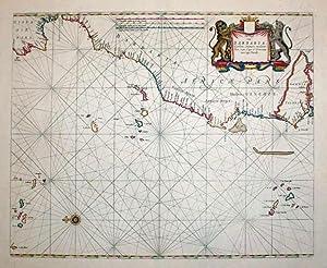 De cust van Barbaria, Gualata, arguyn, en Geneho, van Capo S. Vincente tot Capo Verde: Pieter Goos