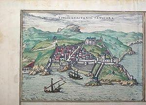 Tingis, Lusitanis, Tangiara: Georg Braun & Frans Hogenberg