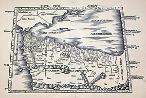 Tabula Prima Africae: Claudius Ptolemy & Martin Waldseemuller