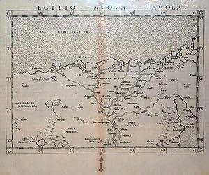 Egitto Nuova Tavola (Northern Africa): Girolamo Ruscelli