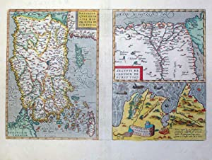 Natoliae, Quae Olim Asia Min Or Nova Descriptio, Aegypti: Re centier de Sciptio (Turkey, Egypt): ...