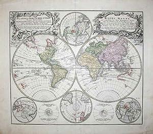 Planiglobii Terrestris, Mappe-Monde: Homann Heirs