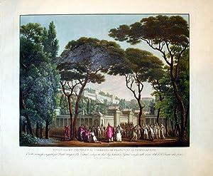 Bosco Sacro Contiguo Al Collegio De Flamini, Ed Al Tempio Di Vesta: Alessandro Sanquirico