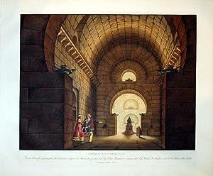 Tempio Sotterraneo: Alessandro Sanquirico