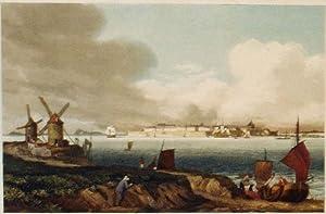 Vue de Saint-Malo: Ambroise-Louis Garneray (1783-1857)