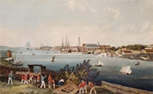 Vue de Lorient: Ambroise-Louis Garneray (1783-1857)