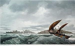 Vue du Port Dieudonne: Ambroise-Louis Garneray (1783-1857)