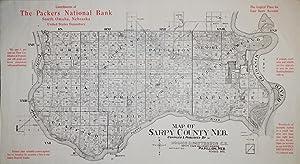Map of Sarpy County Neb. (Nebraska): Horace D. Paterson