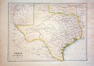 Texas, Part of New Mexico &c.: J. Bartholomew