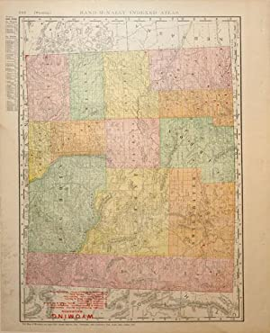 Rand, McNally & Co.'s Indexed Atlas of the World Map of Wyoming: Rand, McNally & Co.