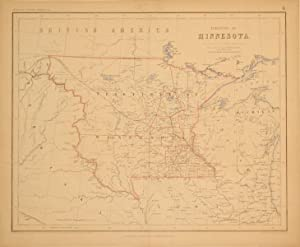 Territory of Minnesota: H.D. Rogers & A. Keith Johnston
