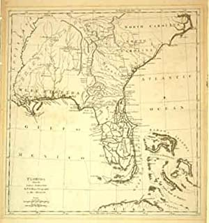 Florida from the Latest Authorities By T. Jefferys, Geographer to HIs Majesty: Thomas Jefferys