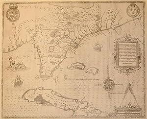 Floridae Americae Provinciae Recens & exactissima descriptio Auctore Jacobo le Moyne cui ...