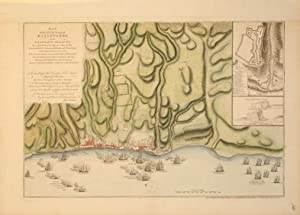 Plan of the Attack against Basseterre on the Island of Guadaloupe By a Squadron of his Majesty&#x27...
