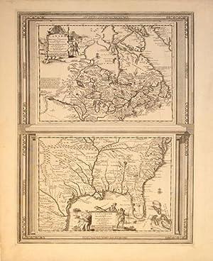 Canada ou Nouvelle France Suivant les Nouvelles Observations de Messrs. de l'Academie Royale ...