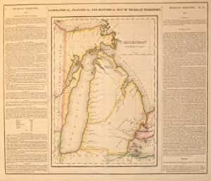 Geographical, Statistical, and Historical Map of Michigan Territory.: Young & Delleker
