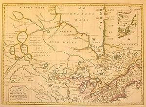Nieuwe Kaar van Kanada, De Landen aan de Hudsons-Baay en de Noordwestelyke deelen van Noord-Amerika...