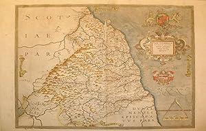 Northumbriae Comitatus (Scotiae contiguae) Nova Veraq descriptio. (Northumberland): Christopher ...