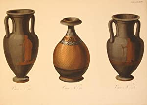Vase N: 21. Vase N: 22. Vase N: 23. Plate XXXV.: Sir William Hamilton