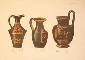 Vase N: 7. Vase N: 8. Vase N: 9. Plate VIII.: Sir William Hamilton