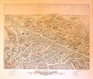 View of Peabody, Mass. 1877: O. H. Bailey & J. C. Hazen