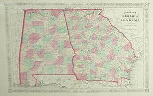 Johnson's Georgia and Alabama: A. J. Johnson
