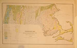 Geological Map of Massachusetts: Edward Hitchcock