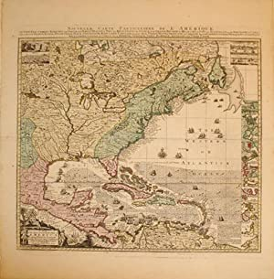 Nouvelle Carte Particuliere de l'Amerique/A Map of the British Empire with the French ...