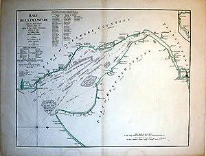 Baye de la Delaware Avec les Ports, Sondes, Dangers, Bancs, &c. depuis les Caps Jusqu'a ...
