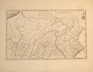The State of Pennsylvania reduced with permission from Reading Howells Map by Samuel Lewis: Mathew ...