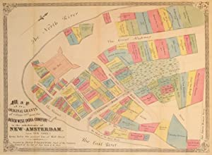 Map of the Original Grants of Village Lots from the Dutch West India Company to the Inhabitants of ...