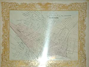Map of the City of Newark (New Jersey): C. Magnus