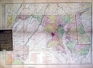 Rand-Mcnally Pocket Map and Shippers' Guide of Maryland & Delaware: Rand McNally