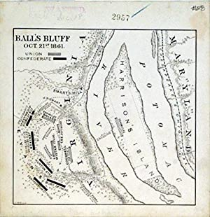 Ball's Bluff Oct. 21st 1861. (Virginia): J. Wells
