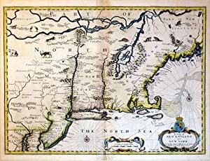 A Map of New England and New York: John Speed