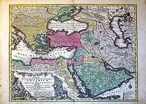Magni Turcarum Dominatoris Imperium per Europam, Asiam, et Africam (Turkey, Middle East): Tobias ...