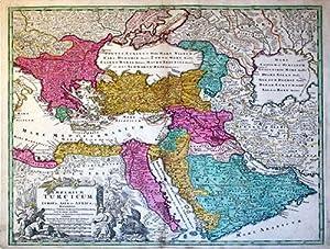 Imperium Turcicum in Europa, Asia et Africa, Regiones Proprias, Tributarias, Clientelares. (Turkey&...