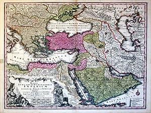 Magni Turcarum Dominatoris Imperium per Europam, Asia, et Africam (Turkey/Ottoman Empire): ...