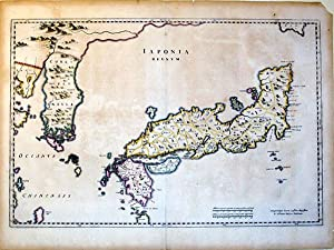 Iaponia Regnum (Japan/Korea): Johannes Blaeu