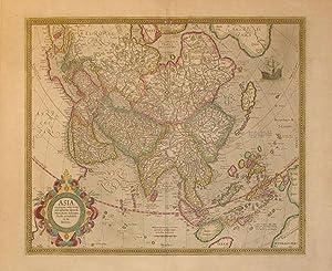 Asia ex magna orbis terre descriptione Gerardi Mercatoris desumpta studio et industria G. M. ...