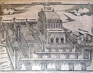 Gestalt Des Tempels Salomonis Mit Seinen Dreyen Vorhofen (Solomon's Temples/Holy Land): ...