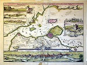 Accurate Vorstellung der Beruhmten Meer-Enge zwichen der Nord und Ost Seeder Sund genant, mit der ...