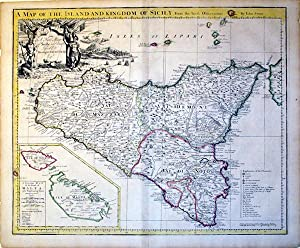 A Map of the Island and Kingdom of Sicily From the latest Observations/(inset)A Particular Map...